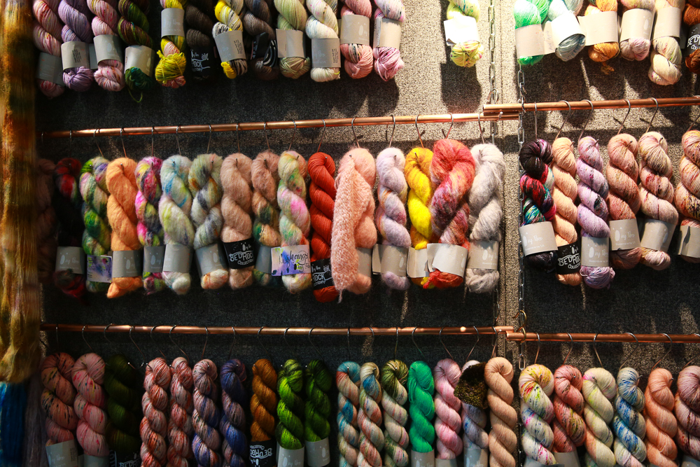 Assorted wools (4)