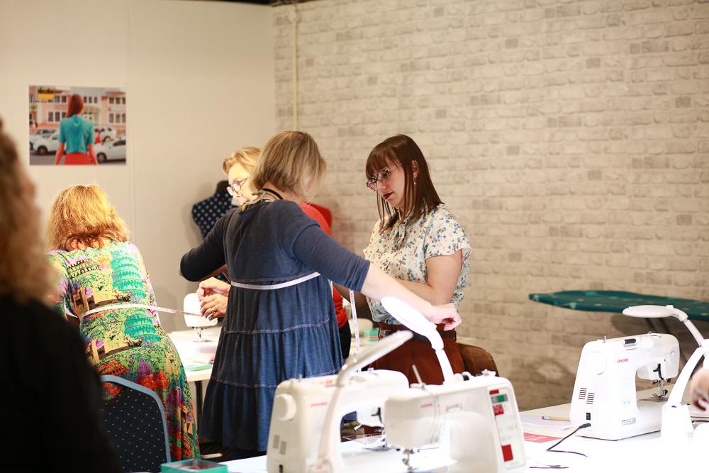 dressmaking studio class in action (1)