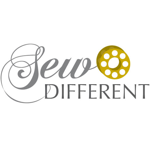 sew different logo grey yellow square