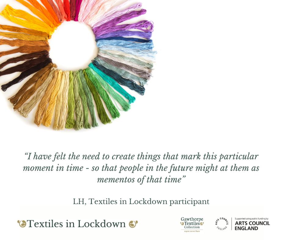 Textiles in Lockdown