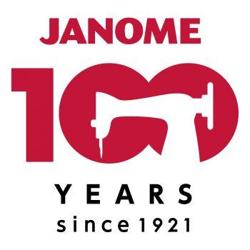 JANOME 100YEARS_logo_full