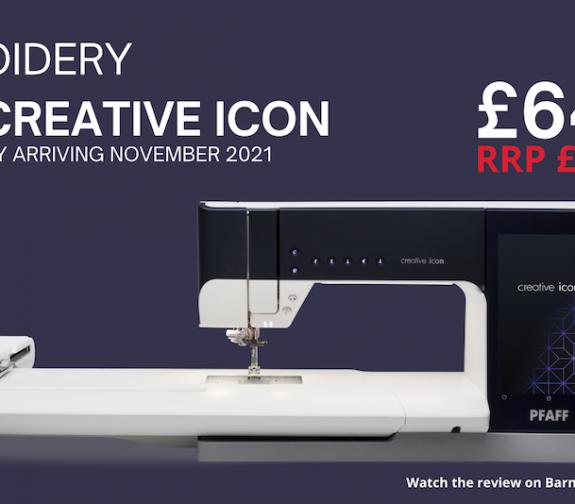 PFAFF Creative Icon + £2000 SAVINGS BUNDLE