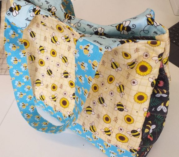 Bee Quilted Bag