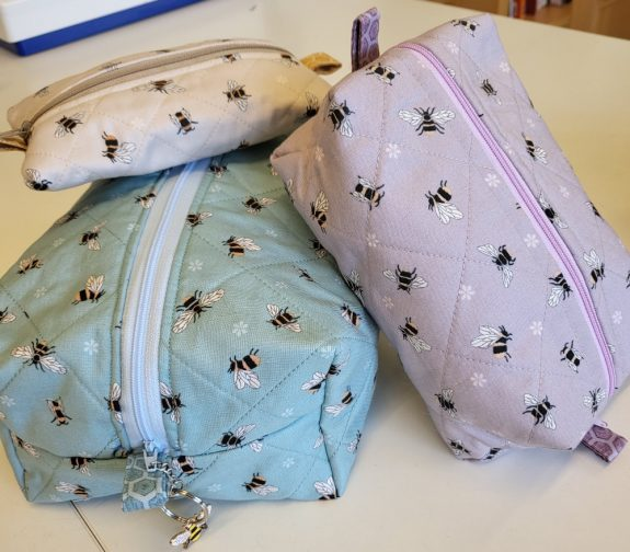 Zippered Trio of Pouches
