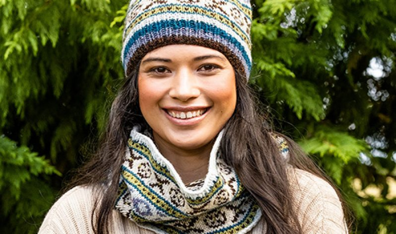 Monica Russel: Have Fun and Knit Fair Isle with Confidence