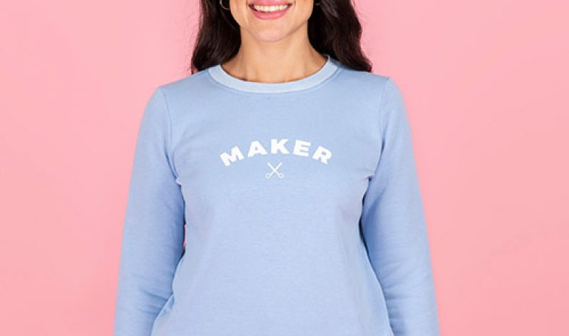 On-Demand, Sew your Own Sweatshirt