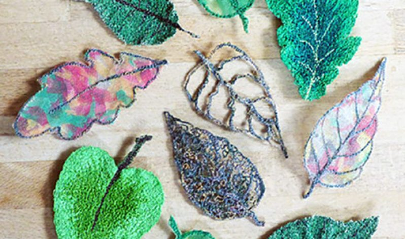 On-Demand, Lovely Leaves: Free Motion Embroidery