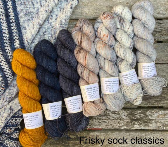 Frisky Sock Yarn