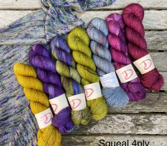Squeal 4ply yarn