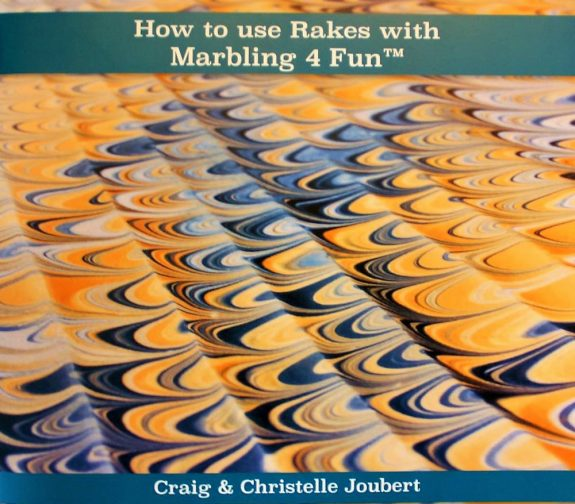 How to use Rakes with Marbling 4 Fun Book 3