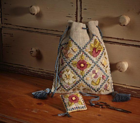 The Beaded Tudor Sweete Bag