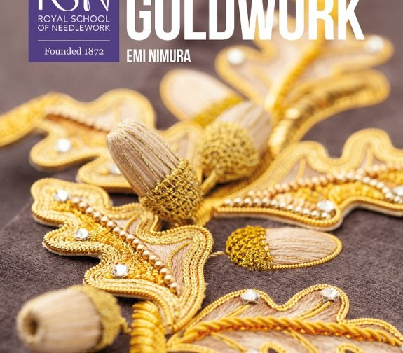 RSN GOLDWORK – Techniques, Projects & Pure Inspiration by Emi Nimura