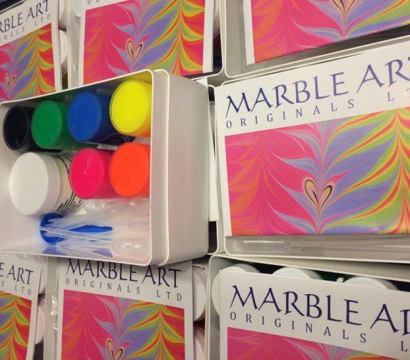 Fluorescent Marbling Kit UK