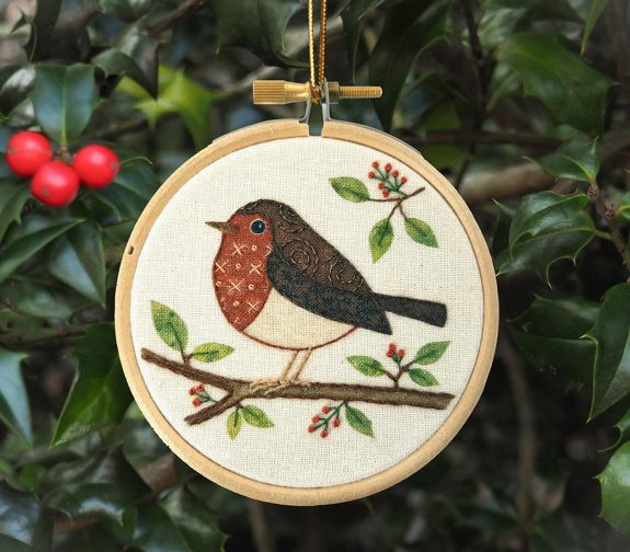 Little Robin Embroidery Kit
