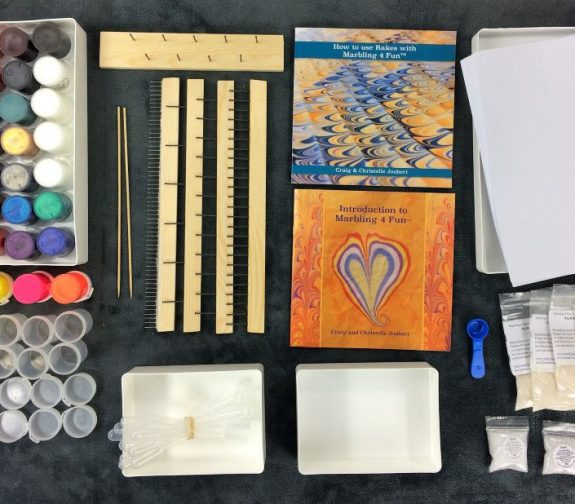Marbling 4 FUN Business in a Box: Deluxe Marbling Bundle Kit. AS A GREAT STARTER OF 50% OFF. LIMITED Special.