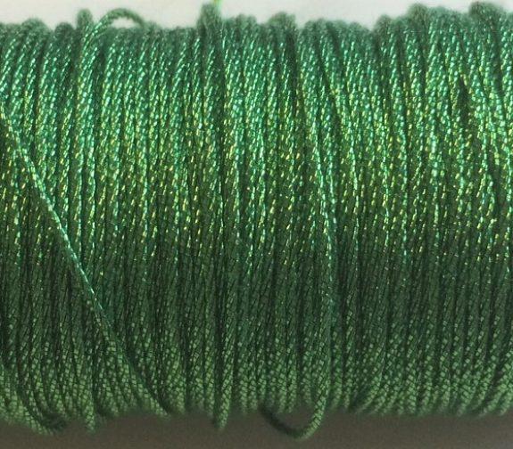 coloured threads - 3 ply twist