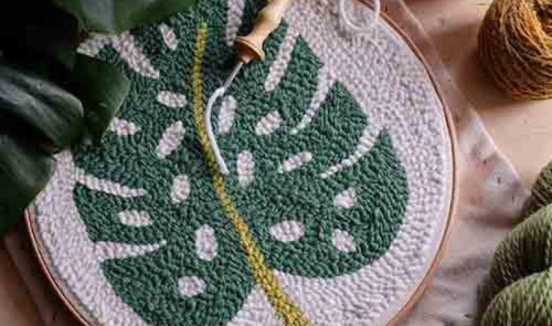 Lucy Rowan: Punch Needlework for Beginners