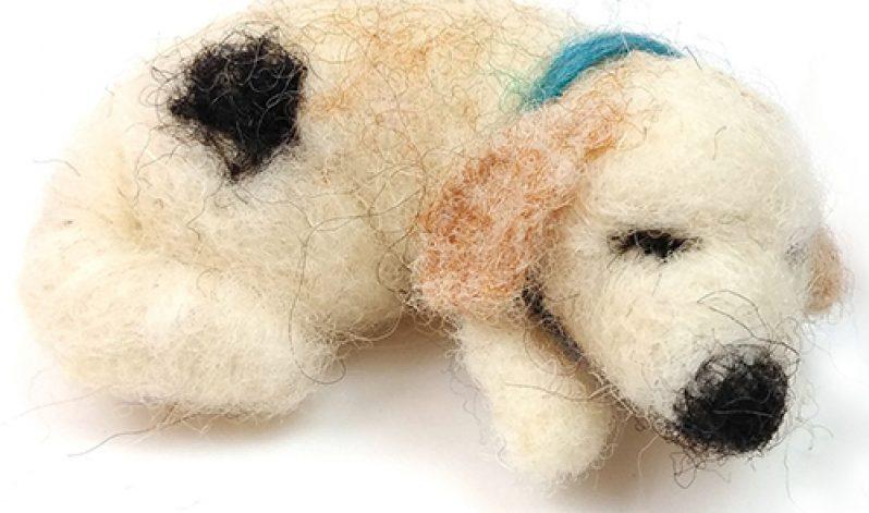 Steffie Stern: Needle Felting, Little Dog with Armature