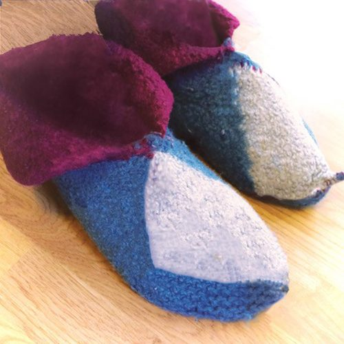 knit felted