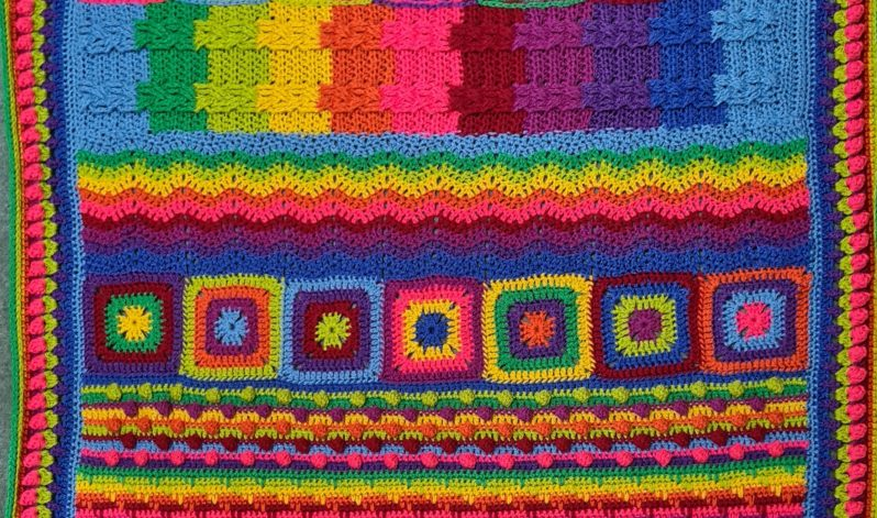 Diana Bensted: Next steps in crochet – Make a sampler blanket